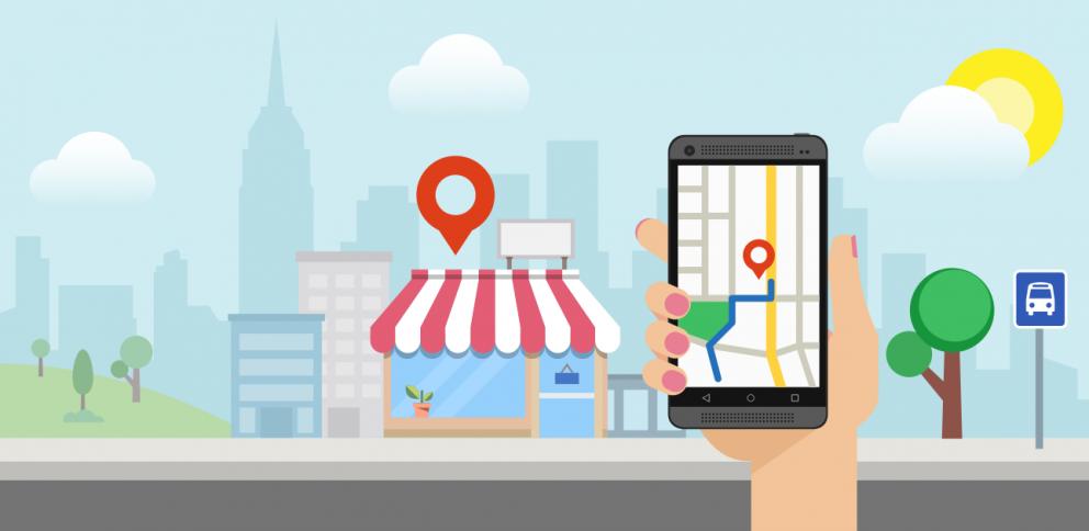 Firma na Google mape