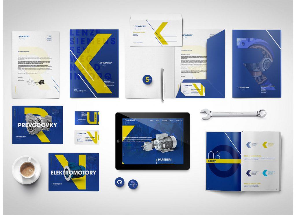dizajn manuál a branding