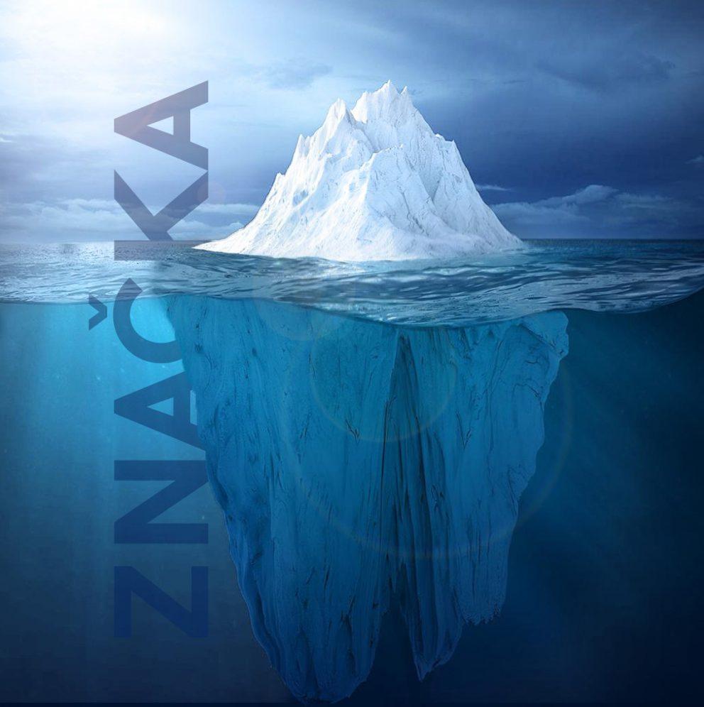 Logo design - špička ľadovca menom značka - h24 STUDIO