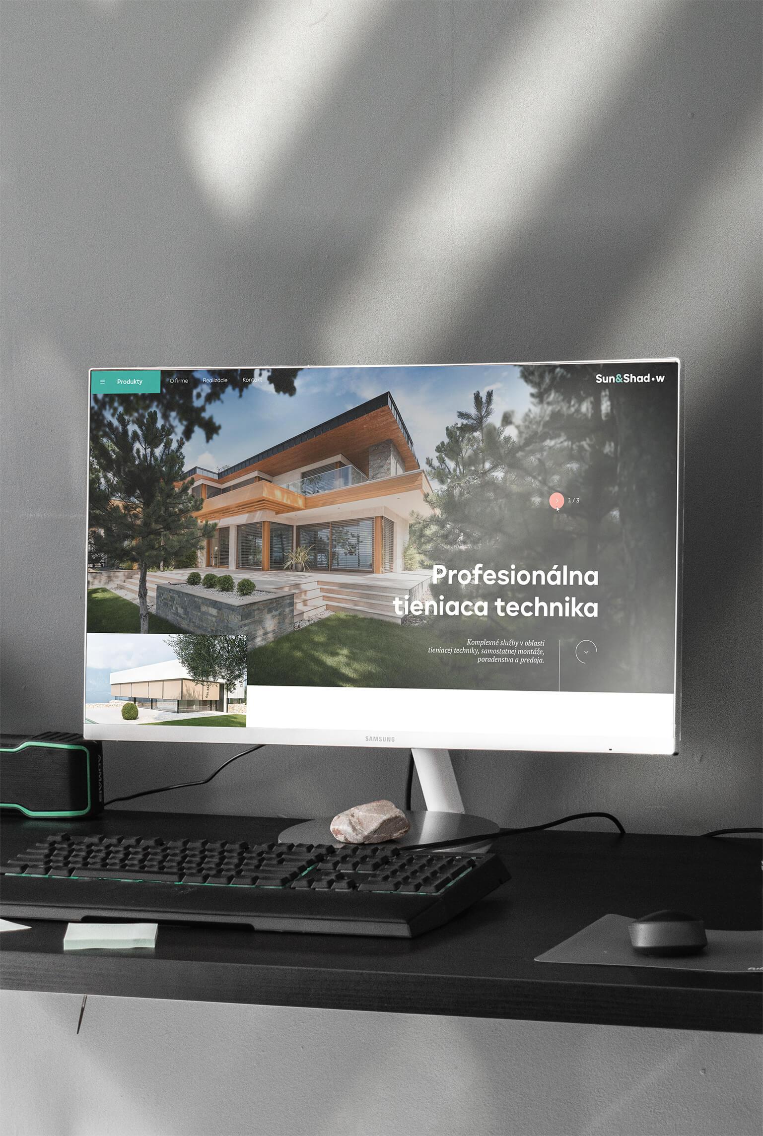 Tieniaca technika_ webstránka
